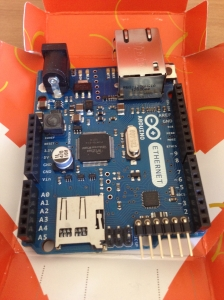 Arduino Ethernet Board