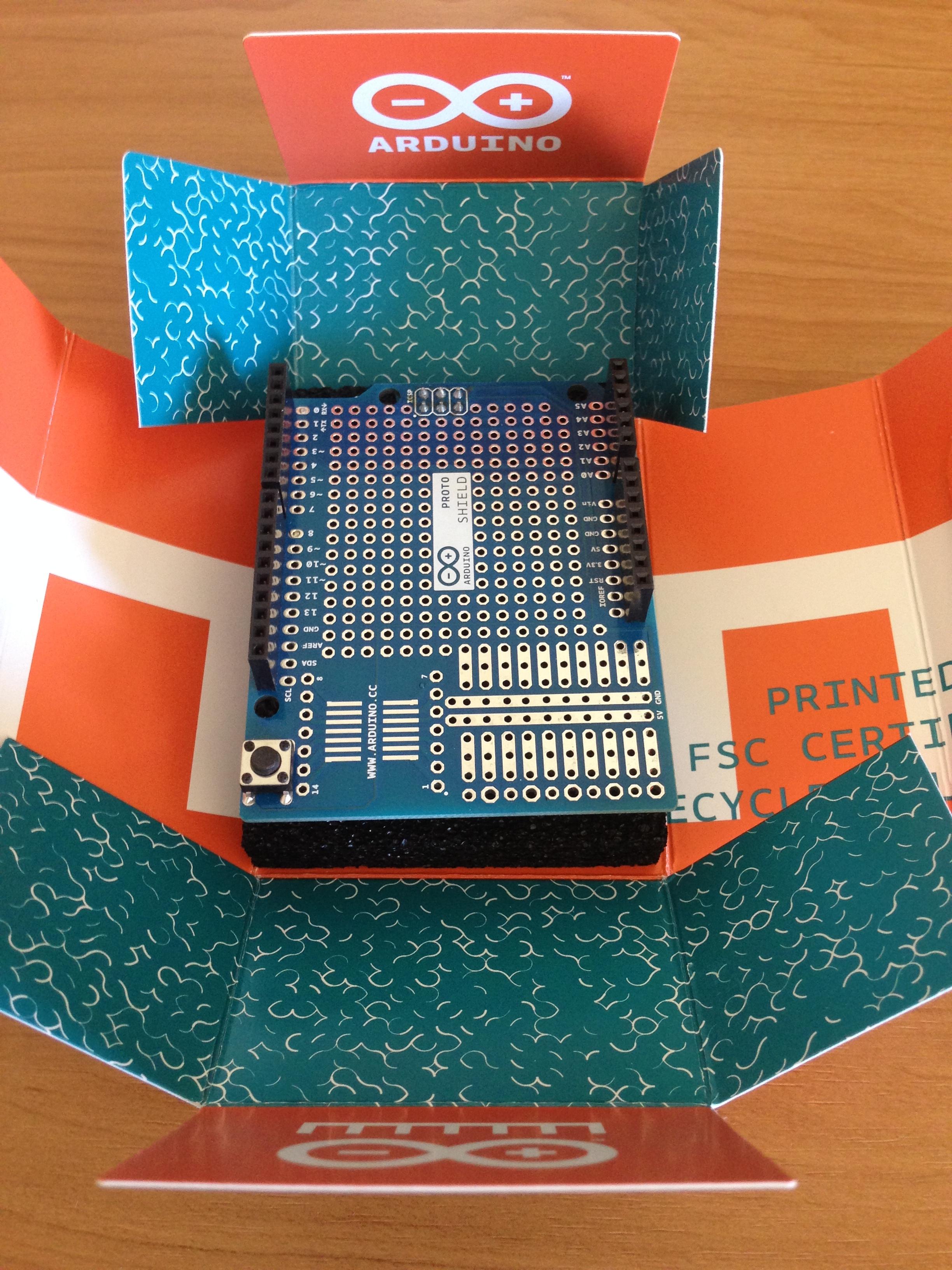 Solder it! Adafruit Proto Shield for Arduino Adafruit