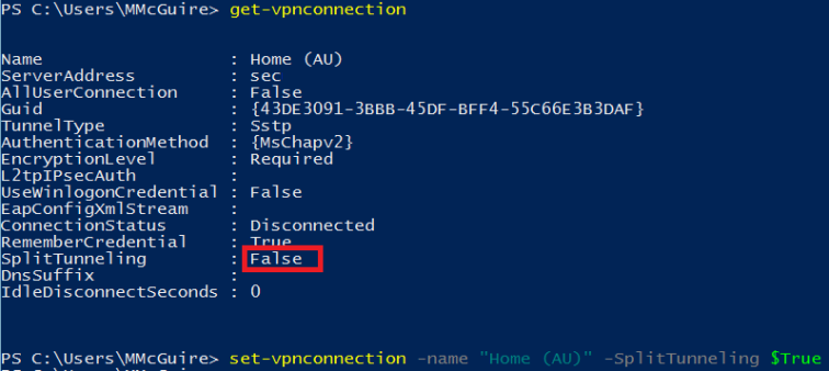 VPN Power Shell
